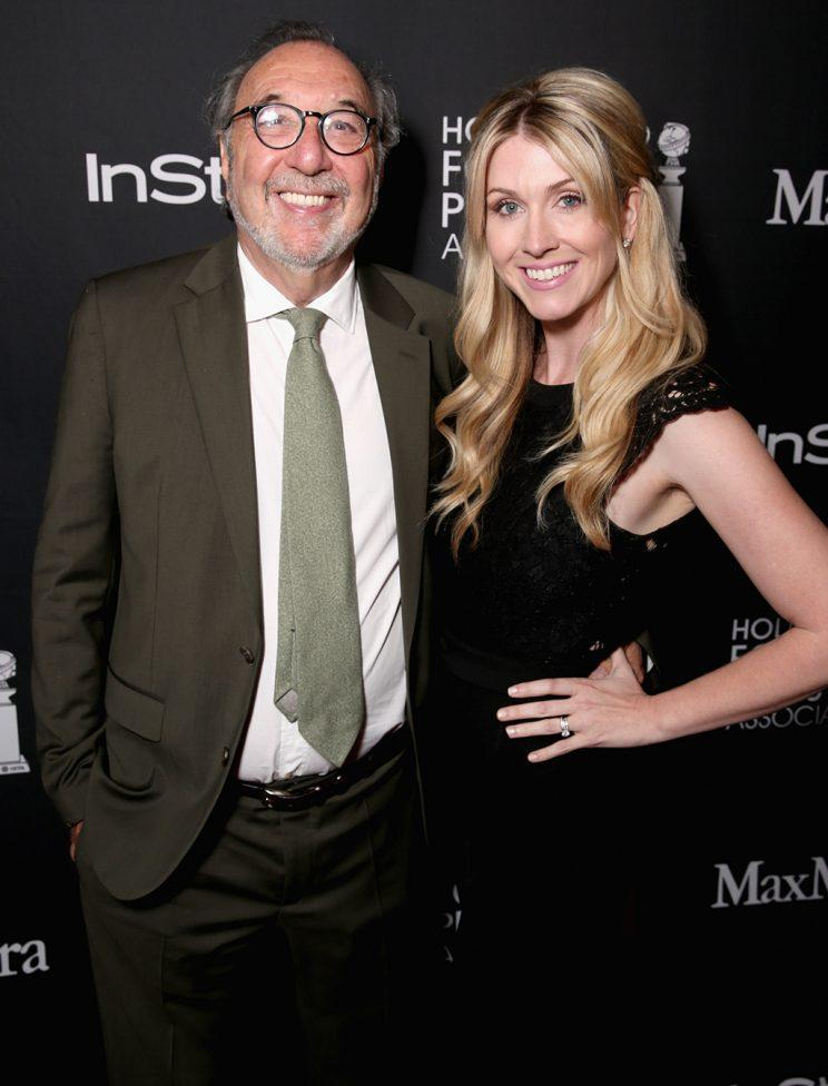 Producer James L. Brooks and writer/director Kelly Fremon Craig attend the Hollywood Foreign Press Association and InStyle's annual celebration of the Toronto International Film Festival at Windsor Arms Hotel on September 10, 2016 in Toronto, Canada. (Photo by Todd Williamson/Getty Images)