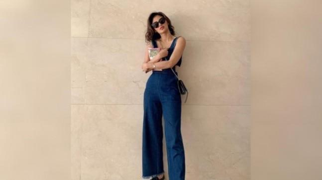 Mouni Roy shared pictures of herself, dressed in a pretty chic jumpsuit and glares, on Instagram. Her fans and followers are delighted with Mouni's pictures.
