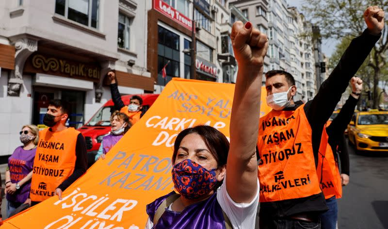 May Day demonstration in Istanbul