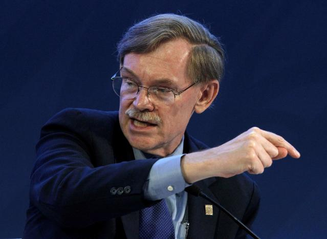 Former World Bank President Robert Zoellick thinks an AMLO win means the end of NAFTA. REUTERS/Andres Stapff