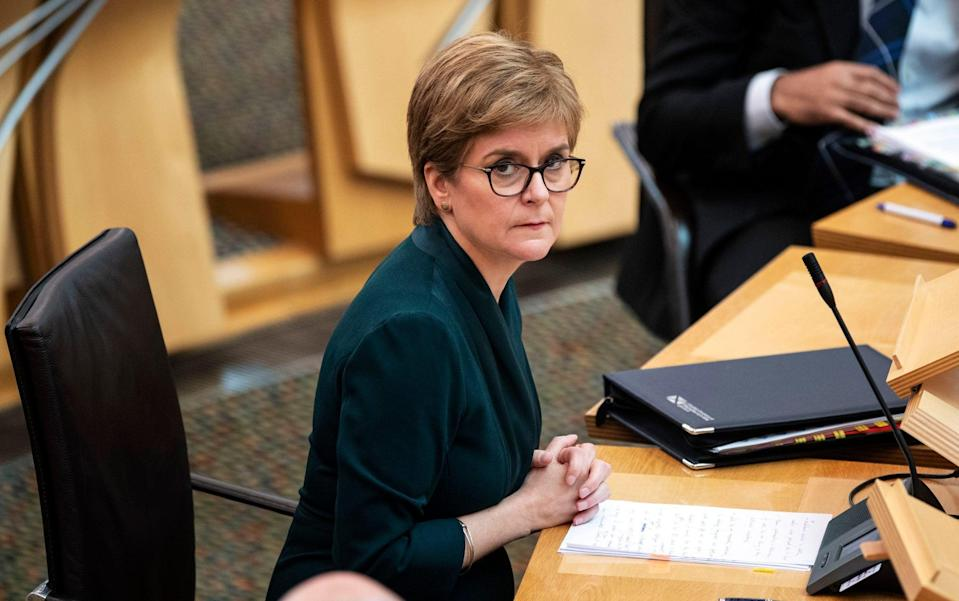 Nicola Sturgeon accused of 'going into hiding' while Scotland's NHS faces crisis - Andy Buchanan