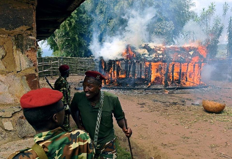 At least 70 people have been killed, 500 wounded and more than 1,000 jailed since late April, when opposition supporters took to the streets to protest against President Pierre Nkurunziza's re-election bid (AFP Photo/CARL DE SOUZA)