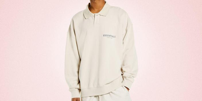"""<p class=""""body-dropcap"""">Have you ever tried to buy <a href=""""https://go.redirectingat.com?id=74968X1596630&url=https%3A%2F%2Fwww.nordstrom.com%2Fbrands%2Ffear-of-god-essentials--20460&sref=https%3A%2F%2Fwww.esquire.com%2Fstyle%2Fmens-fashion%2Fg36743944%2Ffear-of-god-essentials-nordstrom-exclusive-collection%2F"""" rel=""""nofollow noopener"""" target=""""_blank"""" data-ylk=""""slk:Fear of God Essentials"""" class=""""link rapid-noclick-resp"""">Fear of God Essentials</a> online? You're here, reading these words, so I bet you have. But on the off chance that you haven't, let me tell you: It ain't easy. In fact, it's extremely damn tough. Jerry Lorenzo's for-the-people project has fans aplenty, and those fans descend upon the internet in droves to scoop up every last T-shirt, sweatpant, and hoodie as fast as possible. </p><p>So, that's the sort of scene you're dealing with. Nothing you can do to change it. But you <em>can </em>prepare yourself. Though it may not guarantee you'll get the exact item you're after, it gives you a much better chance of success than someone going in cold, not exactly sure what they're in the mood to buy. And I want you to succeed. Really, I do! </p><p>Which is what brings us here, today, to talk about the Fear of God Essentials collection that's dropping <a href=""""https://go.redirectingat.com?id=74968X1596630&url=https%3A%2F%2Fwww.nordstrom.com%2Fbrands%2Ffear-of-god-essentials--20460&sref=https%3A%2F%2Fwww.esquire.com%2Fstyle%2Fmens-fashion%2Fg36743944%2Ffear-of-god-essentials-nordstrom-exclusive-collection%2F"""" rel=""""nofollow noopener"""" target=""""_blank"""" data-ylk=""""slk:exclusively at Nordstrom"""" class=""""link rapid-noclick-resp"""">exclusively at Nordstrom</a> tomorrow morning. There are 10 different styles on offer, ranging from the brand's much-beloved sweats and tees to knit pullovers (hooded <em>and</em> crewneck) and coach's jackets. Each style comes in two colors, cement and stone. And everything in the lineup would look pretty darn good in your closet, should you score """