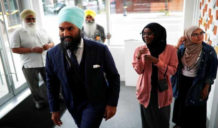 Indian-origin Jagmeet Singh makes history in Canada's House of Commons