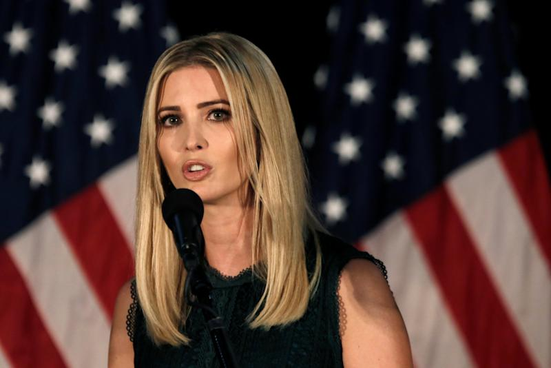 Ivanka Trump, daughter of Republican presidential nominee Donald Trump, speaks at a campaign event in Aston, Penn., Sept. 13, 2016. (Photo: Mike Segar/Reuters)