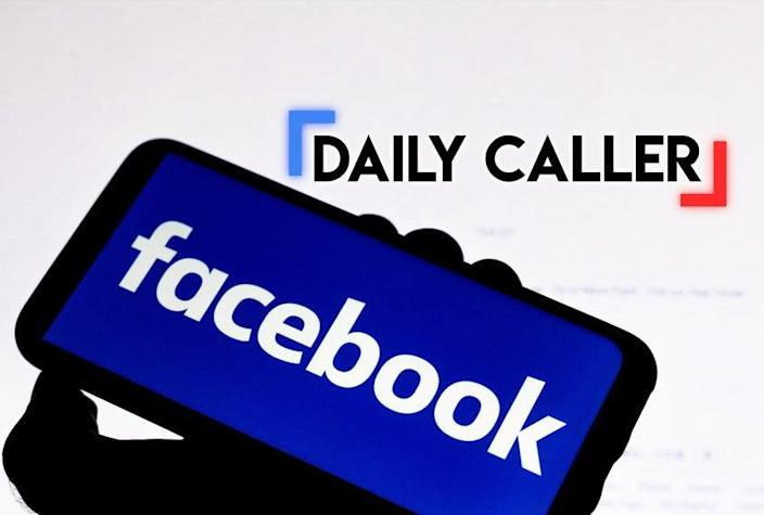 Facebook; The Daily Caller