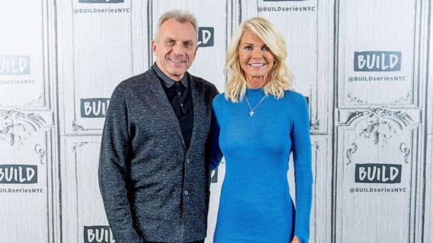 PHOTO: Joe and Jennifer Montana discuss 'Breakaway from Heart Disease' with the Build Series at Build Studio, April 10, 2018, in New York City. (Roy Rochlin/Getty Images, FILE)