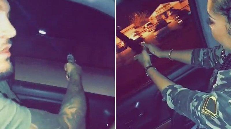 Snapchat Videos Show Couple Shooting Up Houston Neighborhoods