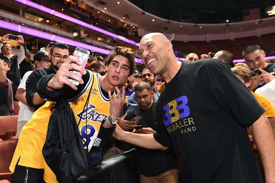 LaVar Ball is a star. Just ask him. (Getty)