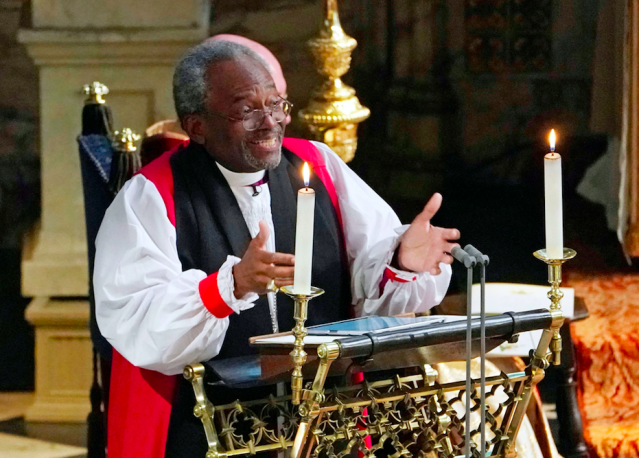Bishop Michael Curry didn't quite believe it when he was invited to speak at the royal wedding. (Photo: Rex)