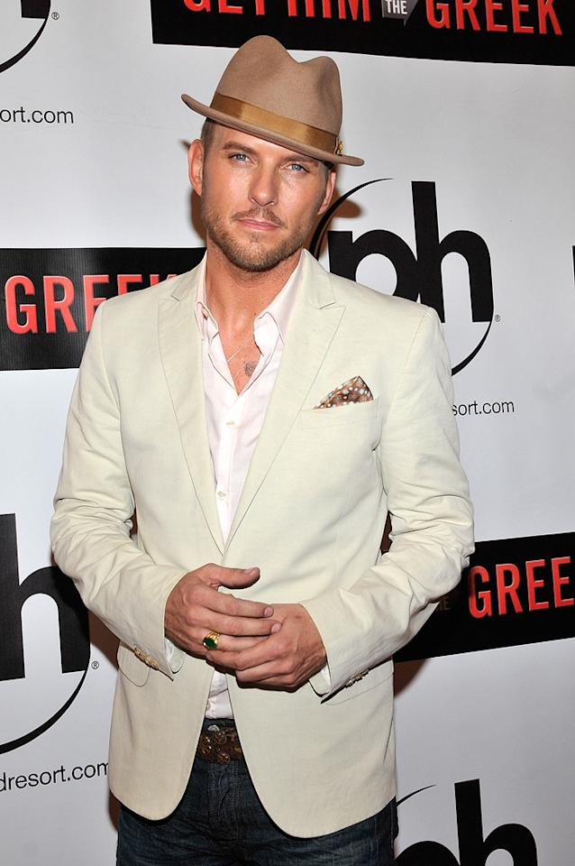 "Matt Goss at the Las Vegas screening of <a href=""http://movies.yahoo.com/movie/1810081179/info"">Get Him to the Greek</a> - 05/20/2010"