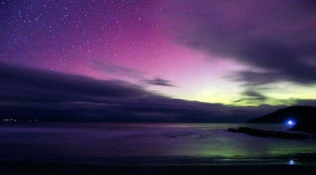 The Aurora Australis. Photo: Jolene Lye (Inoriz photography)