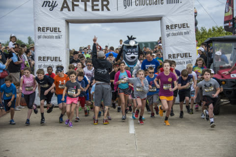 The UnitedHealthcare IRONKIDS Galveston Fun Run Energized Youth About Healthy Living Through