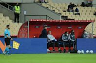 Coach Joachim Loew is under huge pressure after Germany suffered their heaviest defeat since 1931