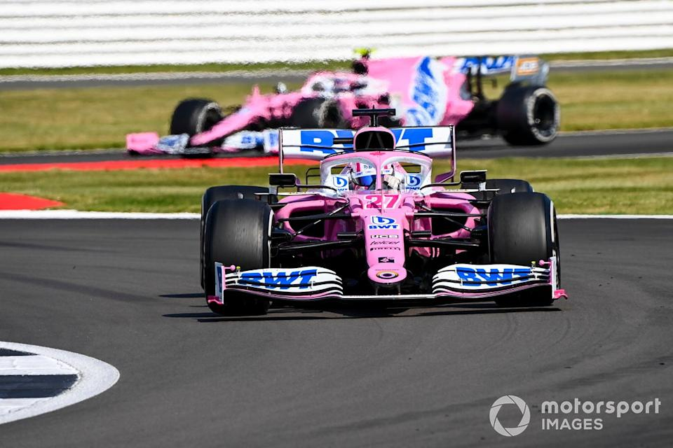 "Nico Hulkenberg, Racing Point RP20, Lance Stroll, Racing Point RP20<span class=""copyright"">Mark Sutton / Motorsport Images</span>"