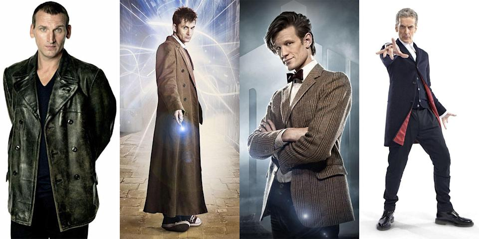 The Doctor's costume generally deviates from the theme of gentleman explore (BBC)