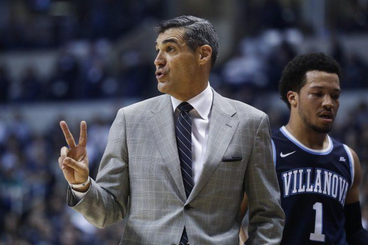 Jay Wright and Villanova once again look like title contenders after finishing their regular season 28-3. (Getty)