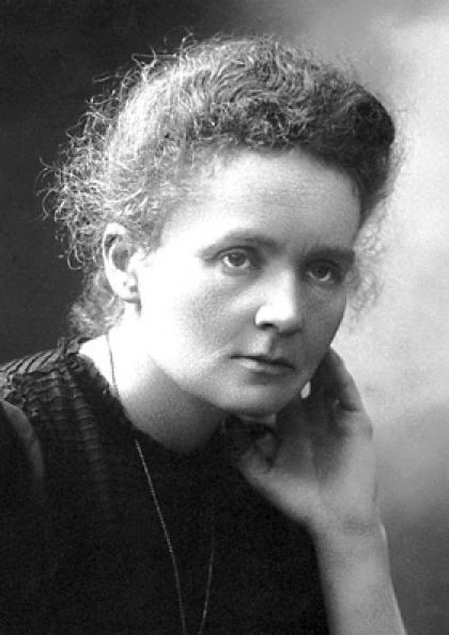 <p>Marie Curie was the first woman to win a Nobel Prize and the only woman to win the award in two different categories (physics and chemistry). Born in Poland in 1867, Marie was a bright student but had to continue her studies in secret as university was strictly for men. She eventually earned a master's degree in physics in 1894 and one in mathematics the year after. She met and married French physicist Pierre Curie and the pair became some of the world's top scientists. Marie explored radioactivity, discovering two new elements: polonium and radium. When World War I occurred, she championed the use of portable X-ray machines and continued her research. Unfortunately, her prolonged exposure to radiation caused her death in 1934. Her legacy as the most famous female scientist still lives on. <i>[Photo: Nobel Prize]</i> </p>