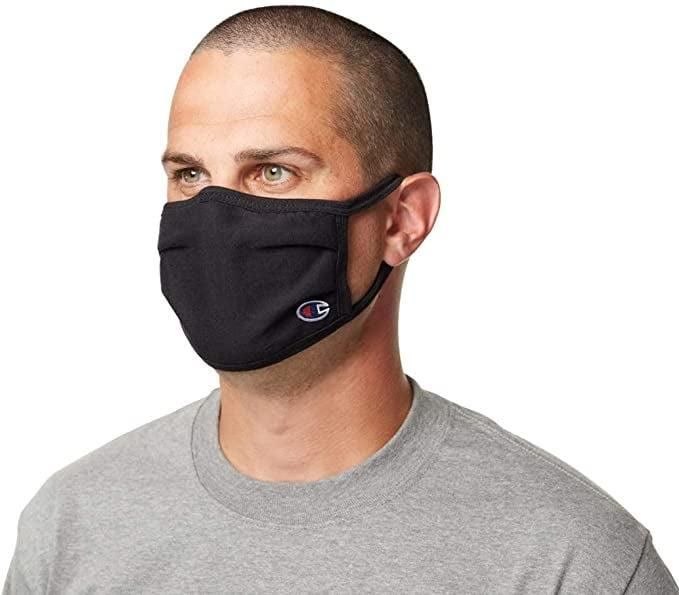 <p><span>Champion Cotton Mask Pack</span> ($16, originally $18 for five)</p>