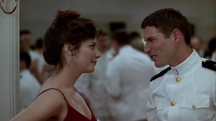 Debra Winger and Richard Gere in 'An Officer and a Gentleman' (Paramount)