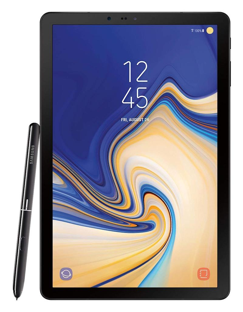 The Galaxy Tab S4 tablet even comes with Samsung's S-Pen. (Photo: Amazon)