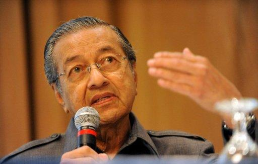 Mahathir Mohamad is known for his anti-Jewish and anti-American statements in Muslim-majority Malaysia