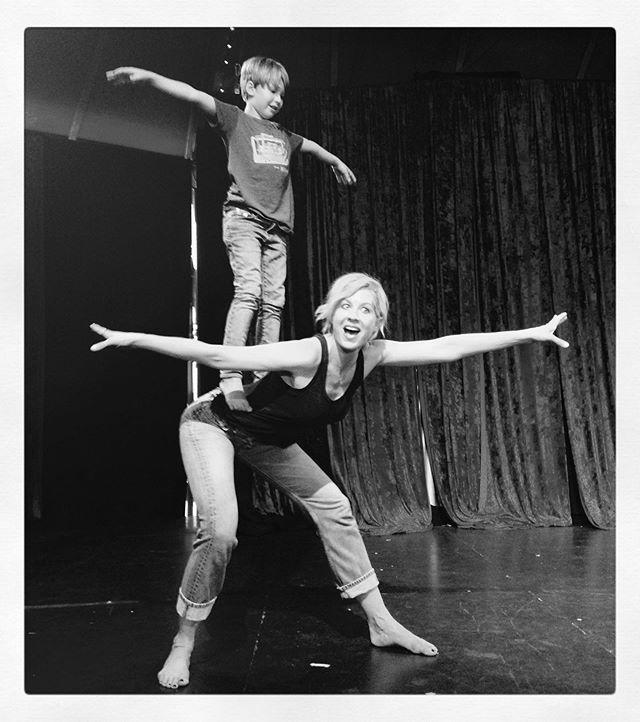 """<p>Actress Jenna Elfman started ballet at the age of 5. The <em>Fear The Walking Dead </em>star made her professional dance debut in <a href=""""https://youtu.be/iEH4eqtK8SU"""" rel=""""nofollow noopener"""" target=""""_blank"""" data-ylk=""""slk:Depeche Mode's 1990 video """"Halo."""""""" class=""""link rapid-noclick-resp"""">Depeche Mode's 1990 video """"Halo.""""</a> She starred in many other music videos and was a """"Legs Girl"""" for ZZ Top's 1994 tour.</p><p><a href=""""https://www.instagram.com/p/CAA2-RYlY9B/?utm_source=ig_embed&utm_campaign=loading"""" rel=""""nofollow noopener"""" target=""""_blank"""" data-ylk=""""slk:See the original post on Instagram"""" class=""""link rapid-noclick-resp"""">See the original post on Instagram</a></p>"""