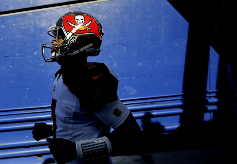 The NFL is investigating Jameis Winston for a potential violation of the league's player conduct policy. (AP)
