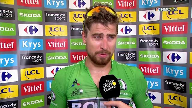 2018 Tour de France: Peter Sagan details Stage 5 win