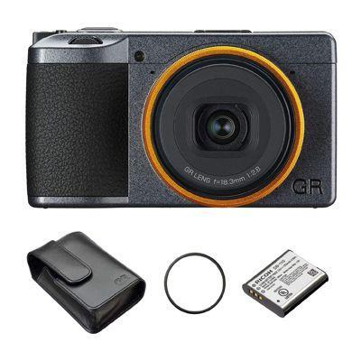"<p><a class=""link rapid-noclick-resp"" href=""https://www.amazon.co.uk/Ricoh-GR-III-Street-Premium/dp/B08LDLJ5QG/ref=sr_1_3?crid=QZE0G9V0W50F&dchild=1&keywords=ricoh+gr+iii&qid=1616606474&s=electronics&sprefix=ricoh+gr%2Celectronics%2C163&sr=1-3&tag=hearstuk-yahoo-21&ascsubtag=%5Bartid%7C1923.g.35925328%5Bsrc%7Cyahoo-uk"" rel=""nofollow noopener"" target=""_blank"" data-ylk=""slk:SHOP"">SHOP</a></p><p>A street photographer's dream, Ricoh's GR III 'Street Edition' packs all the technology of a premium DSLR into a tiny body. It also comes with a leather case, spare battery and a nice amber lens ring.</p><p>£899, <a href=""https://www.amazon.co.uk/Ricoh-GR-III-Street-Premium/dp/B08LDLJ5QG/ref=sr_1_3?crid=QZE0G9V0W50F&dchild=1&keywords=ricoh+gr+iii&qid=1616606474&s=electronics&sprefix=ricoh+gr%2Celectronics%2C163&sr=1-3&tag=hearstuk-yahoo-21&ascsubtag=%5Bartid%7C1923.g.35925328%5Bsrc%7Cyahoo-uk"" rel=""nofollow noopener"" target=""_blank"" data-ylk=""slk:amazon.co.uk"" class=""link rapid-noclick-resp"">amazon.co.uk</a></p>"
