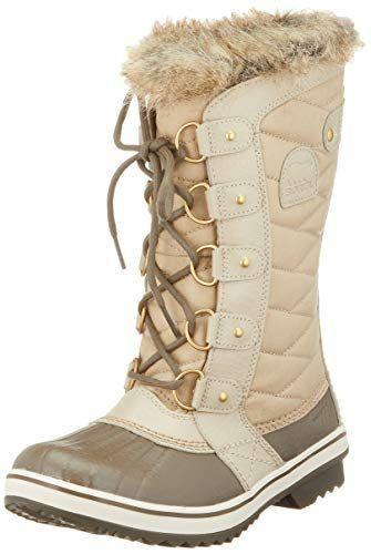 """<p><strong>Sorel</strong></p><p>amazon.com</p><p><strong>138.29</strong></p><p><a href=""""https://www.amazon.com/dp/B07KK1WR8F?tag=syn-yahoo-20&ascsubtag=%5Bartid%7C2164.g.32598715%5Bsrc%7Cyahoo-us"""" rel=""""nofollow noopener"""" target=""""_blank"""" data-ylk=""""slk:Shop Now"""" class=""""link rapid-noclick-resp"""">Shop Now</a></p><p>These chic, waterproof boots have the ultimate seal of approval from Dr. Parthasarany: She owns them! The slight heel gives ankles plenty of stability. </p>"""