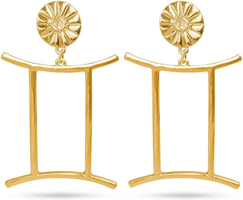 <p>You can customize these <span>Hoop Earrings</span> ($25) to your zodiac sign.</p>