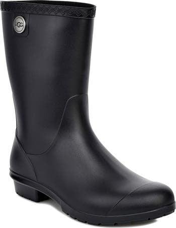 <p>Stay warm in these <span>UGG Sienna Rain Boots</span> ($70). They've got the classic UGG shearling inside, which we love.</p>