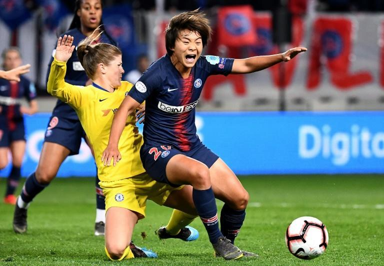 Shuang Wang plied her trade for Paris Saint-Germain in Europe before returning to China