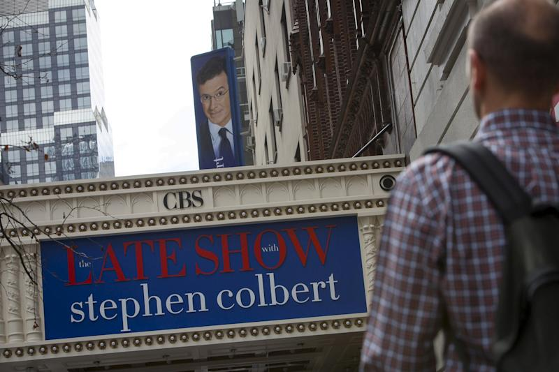 Colbert's Trump Comments Under Investigation By FCC