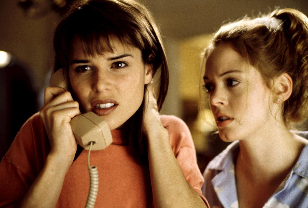 """Sidney Prescott (Neve Campbell) and the <em>Scream</em> franchise helped redefine slasher films and """"Final Girls"""" for a new generation. The movies still hold up today. <em>Available to stream on <a href=""""https://www.netflix.com/title/939827"""">Netflix</a></em>"""