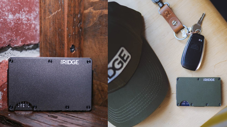 Best gifts for dads: Ridge RFID-Blocking Wallet
