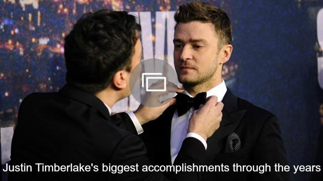 justin timberlake accomplishments slideshow