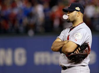 Cardinals slugger Albert Pujols has added spice to the 107th World Series with his actions on and off the field