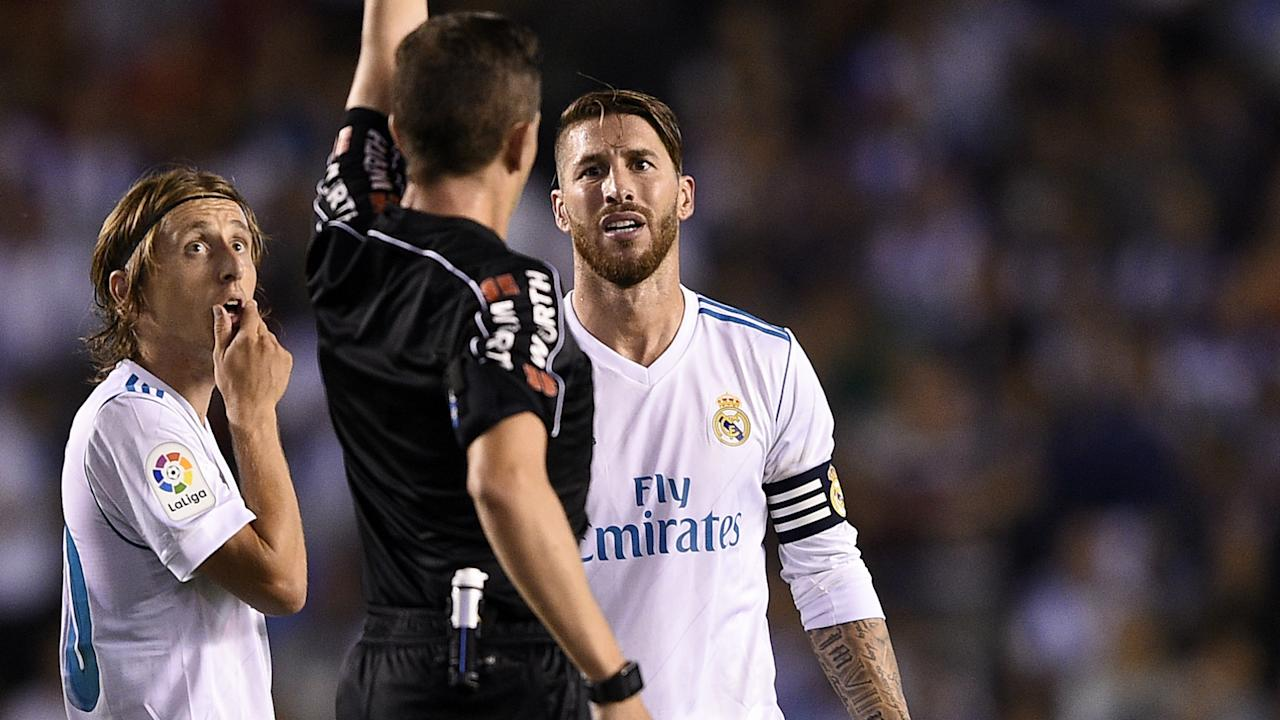 Real Madrid's 1-0 loss to Real Betis on Wednesday left Sergio Ramos furious and he gave a frank assessment of their start to the season.