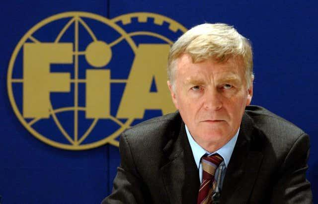 Max Mosley served three terms as FIA president