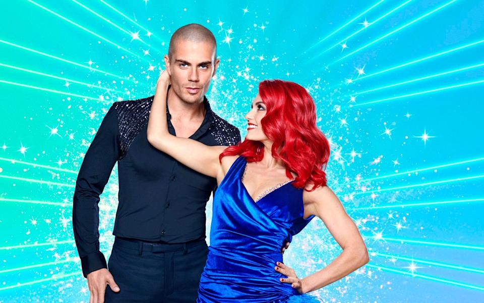 Max George and Dianne Buswell - BBC