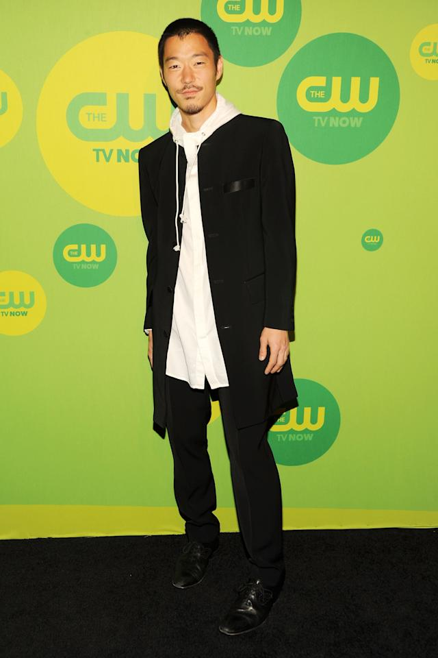 NEW YORK, NY - MAY 16:  Actor Aaron Yoo attends The CW Network's New York 2013 Upfront Presentation at The London Hotel on May 16, 2013 in New York City.  (Photo by Ben Gabbe/Getty Images)