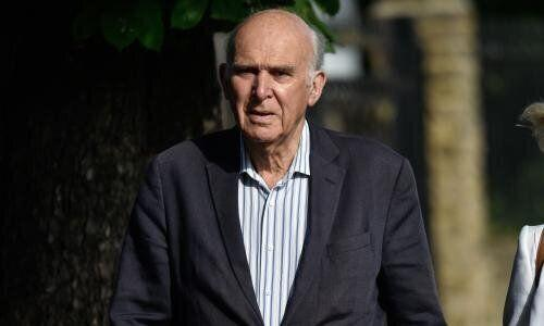 Lib Dem leader Sir Vince Cable