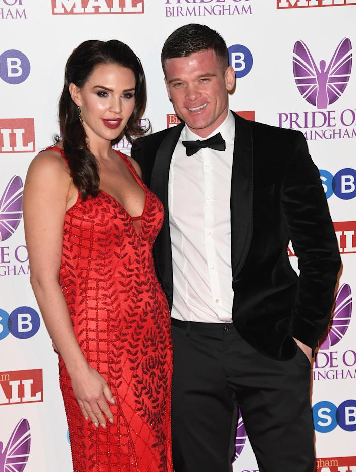Danielle Lloyd and husband Michael O'Neill are expecting a daughter. (Photo by Stuart C. Wilson/Getty Images)