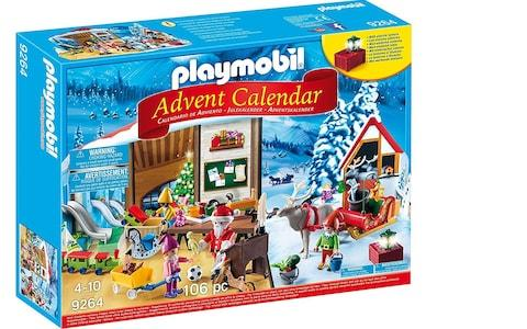 Playmobil 9264 Advent Calendar Santa's Workshop - Credit: Very