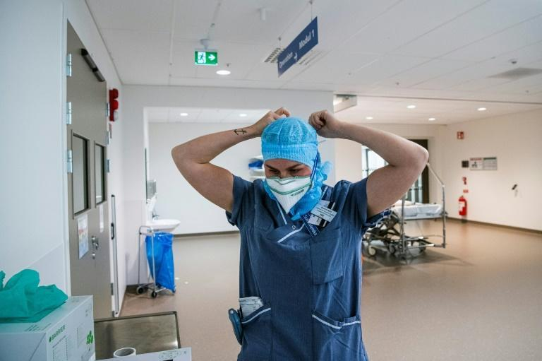 Swedish hospitals like Sodersjukhuset in Stockholm are now treating almost as many coronavirus patients as in April