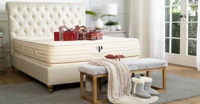 PlushBeds Organic Latex Mattress made with solid 100% pure natural latex, organic wool and organic cotton.