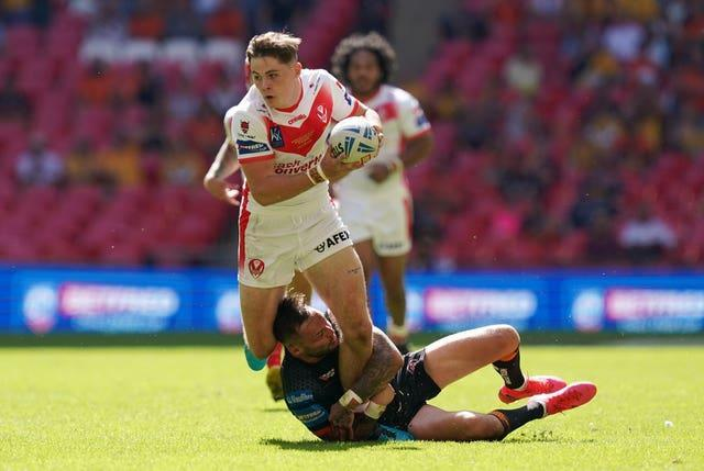 Jack Welsby had an impact for Saints after coming off the bench for the second half