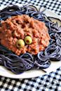 "<p>Black food paste is the secret ingredient for making <a href=""https://www.womansday.com/food-recipes/food-drinks/g2324/pasta-recipes/"" rel=""nofollow noopener"" target=""_blank"" data-ylk=""slk:pasta night"" class=""link rapid-noclick-resp"">pasta night</a> extra creepy this October.</p><p><strong>Get the recipe at the <a href=""http://www.the36thavenue.com/halloween-spaghetti/"" rel=""nofollow noopener"" target=""_blank"" data-ylk=""slk:36th Avenue"" class=""link rapid-noclick-resp"">36th Avenue</a>.</strong></p>"